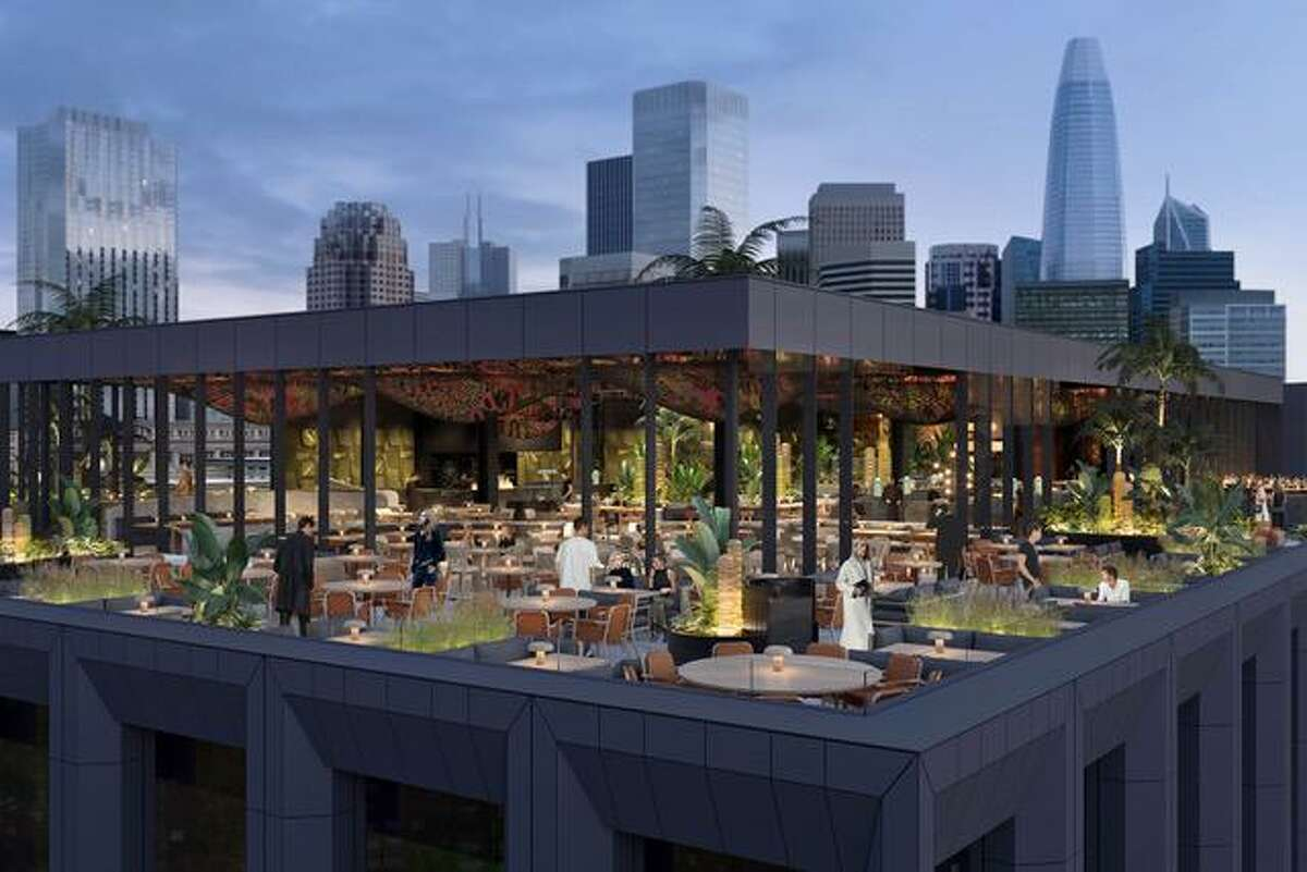 A rendering of Chotto Matte, opening in Union Square in 2022.