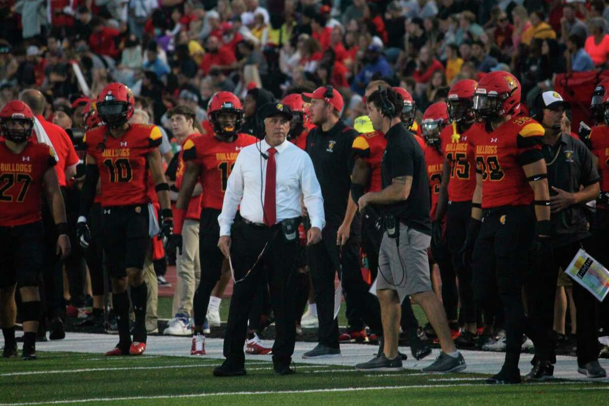 Ferris State football coach Tony Annese and his team, ranked No. 2 in the nation, made it 29 straight regular-season wins for a school record last week. (Piioneer photo/John Raffel)