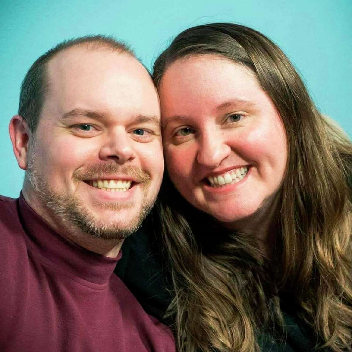 Pictured are Brian Papendick and Becky Johnston. (Photo provided)