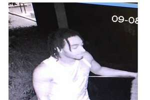 Police believe this man stole packages from the front step of an apartment complex in downtown Stamford.