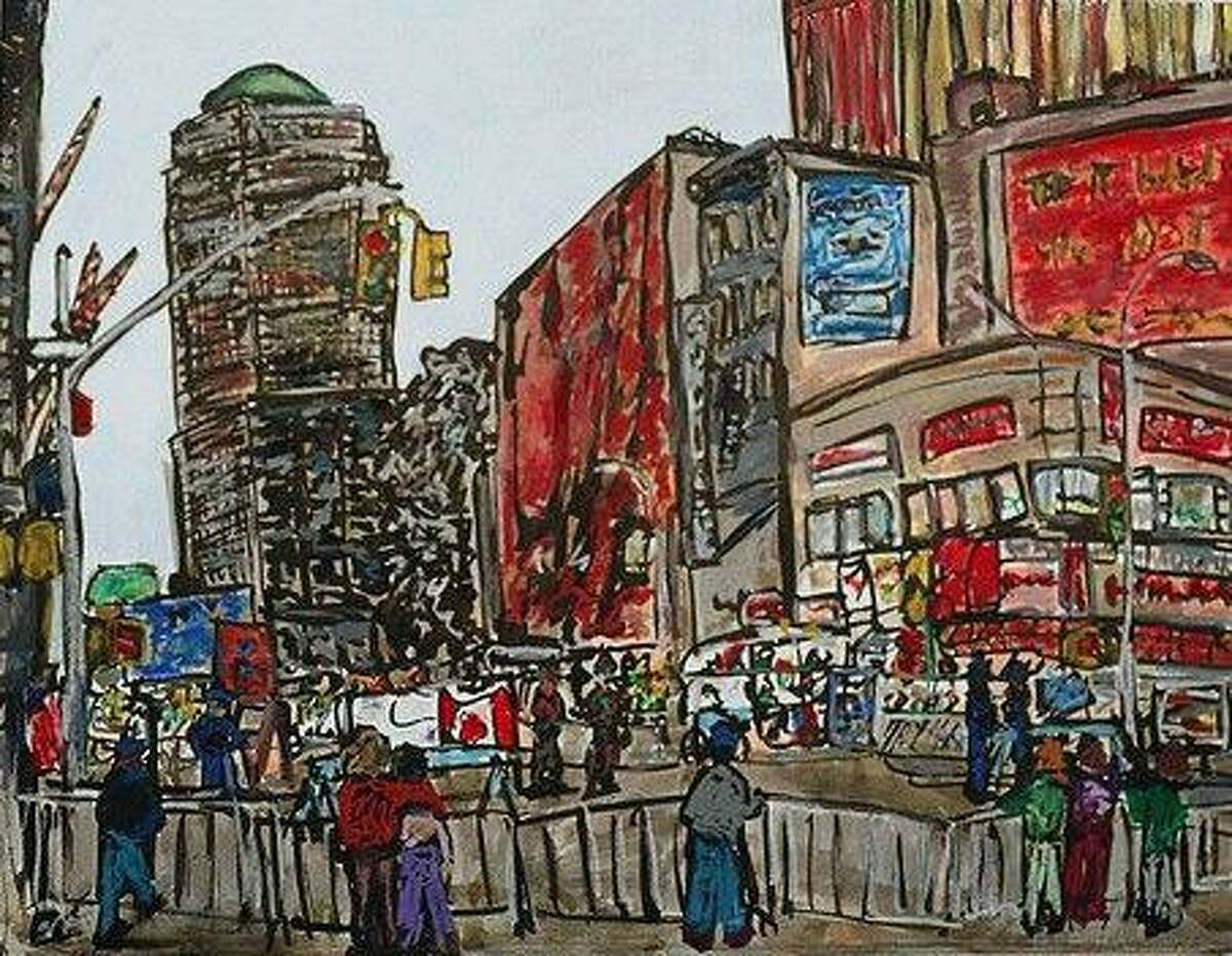 Artist Don Sexton lives and works in New York City. On Sept. 11, 2001, he was working blocks away from the World Trade Center, while his wife, Laura, was walking their grade-school-age sons to school.
