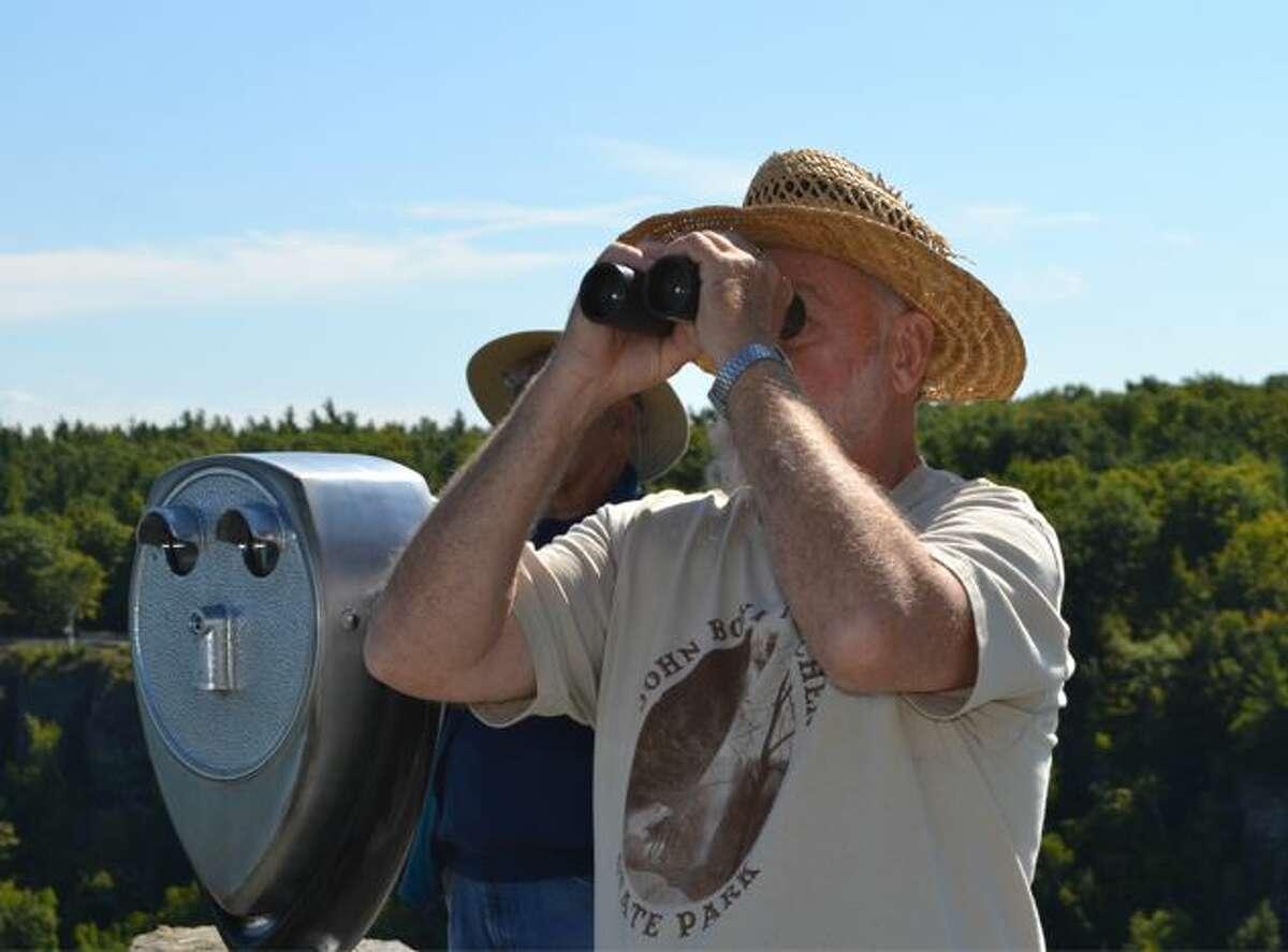 Will Aubrey has coordinated the annual Helderberg Escarpment Hawk Watch for 20 years.