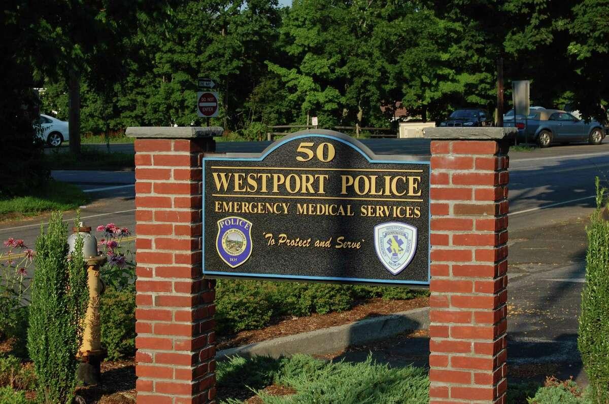 Westport Police Headquarters on Jesup Road.