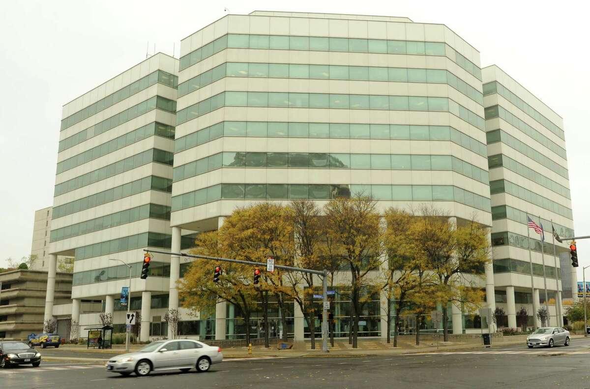 Stamford Government Center, 888 Washington Blvd. in Stamford, Conn. on Wed. Oct. 28, 2015.
