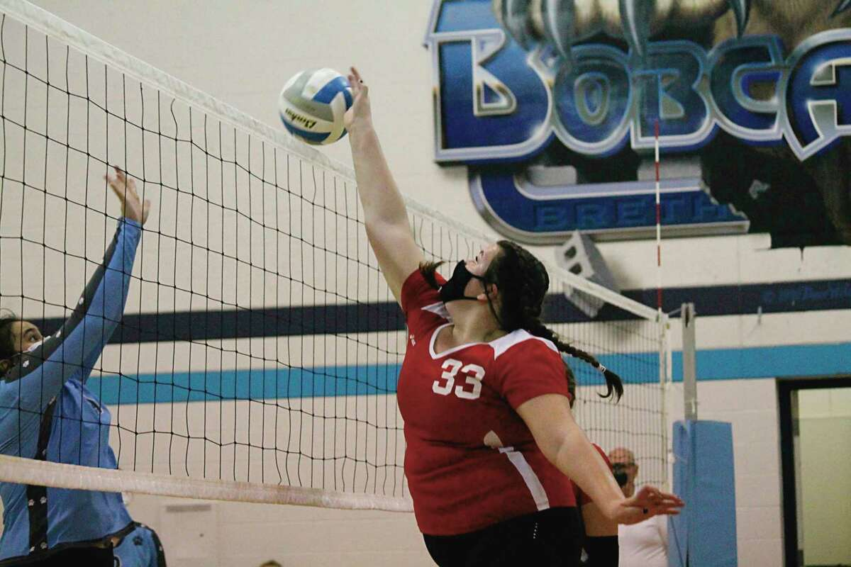 MaKayla Omar figures to be one of Bear Lake's top hitters at the net this year.