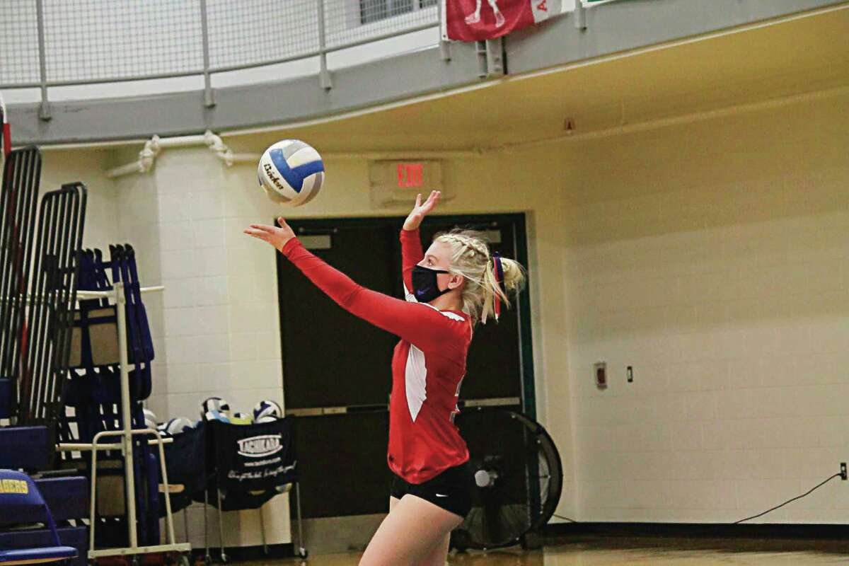 Josie Ziehm finished second team all-conference for Manistee Catholic a season ago.