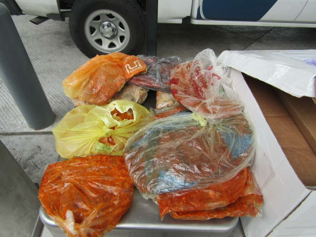 U.S. Customs and Border Protection recently seized several pounds of pork meat at the Laredo Port of Entry.