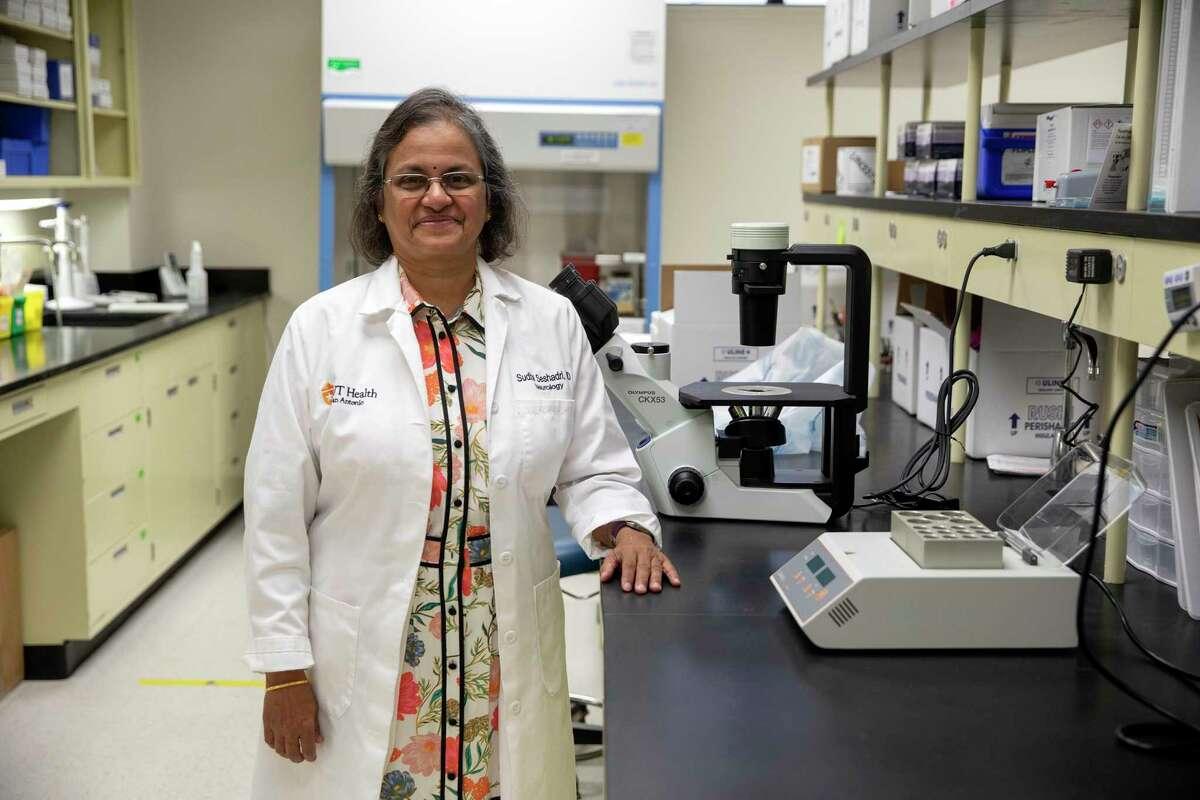 Dr. Sudha Seshadri is the founding director of the Glenn Biggs Institute for Alzheimer's and Neurodegenerative Diseases at UT Health San Antonio.