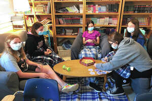 North Greene Junior High School students use a hands-on approach in exploratory learning classes. This is the first year for the classes, aimed at improving student test scores.