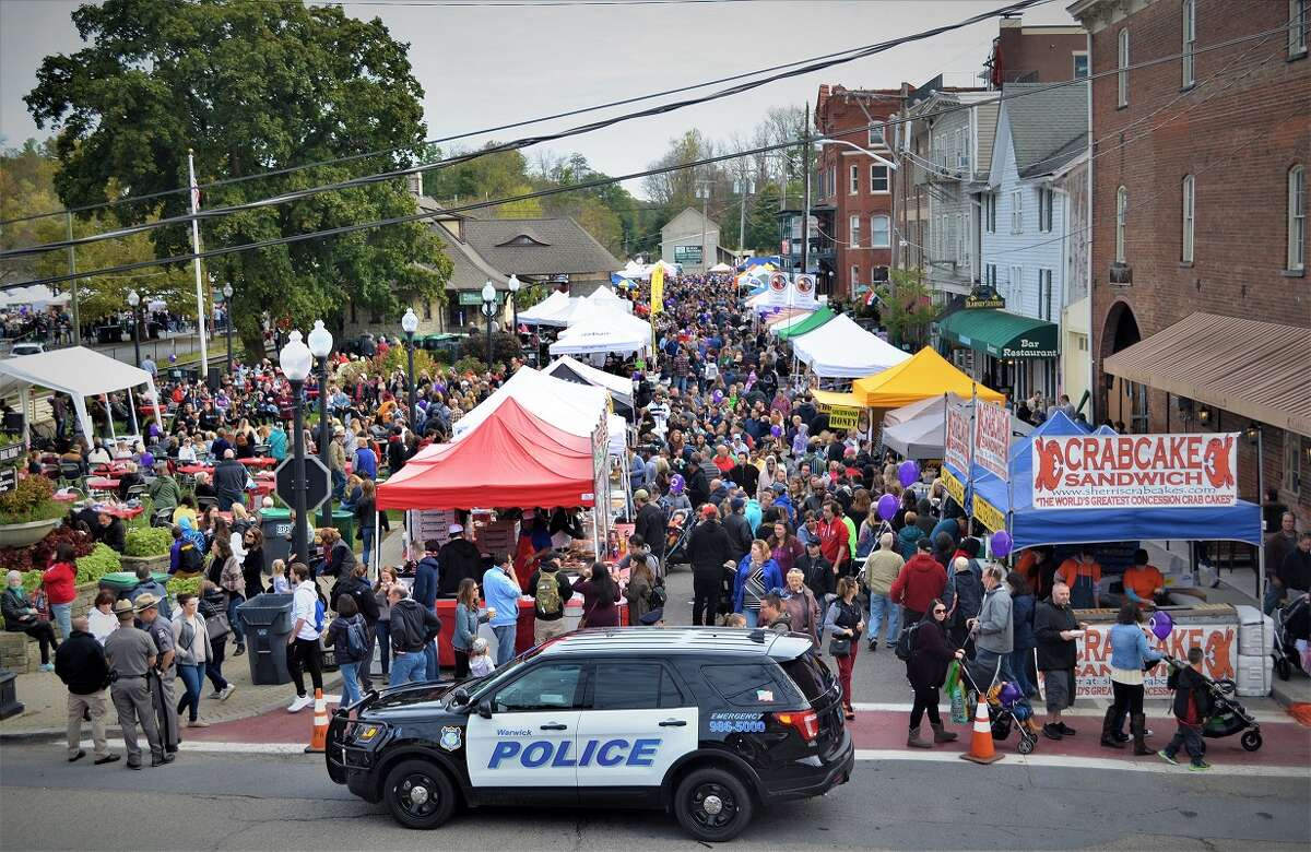 Warwick's Applefest, shown here at its 2018 event, was canceled in May for the second year in a row. Now, residents wonder how they can help the 40 nonprofits that usually benefit from the annual fall event that attracts tens of thousands of visitors.