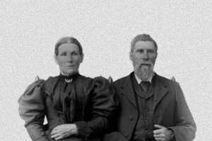 The VanVoltenburgs, circa 1886.