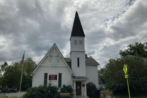 The current Stillwater Public Library is a former church. It is not fully accessible and librarians hope to move to a bigger building.
