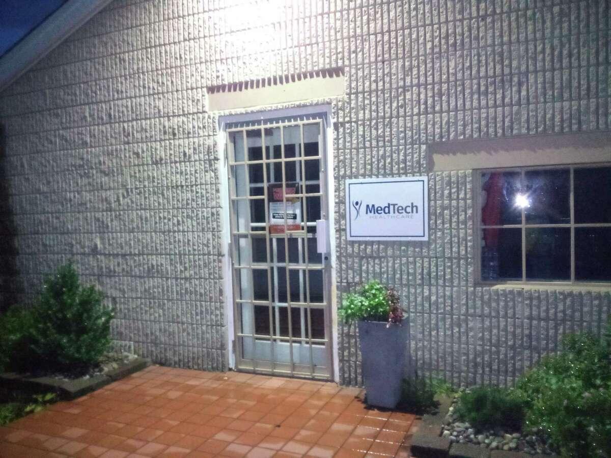 Still River Wellness, a medical marijuana facility in Still River Plaza on Winsted Road, Torrington.