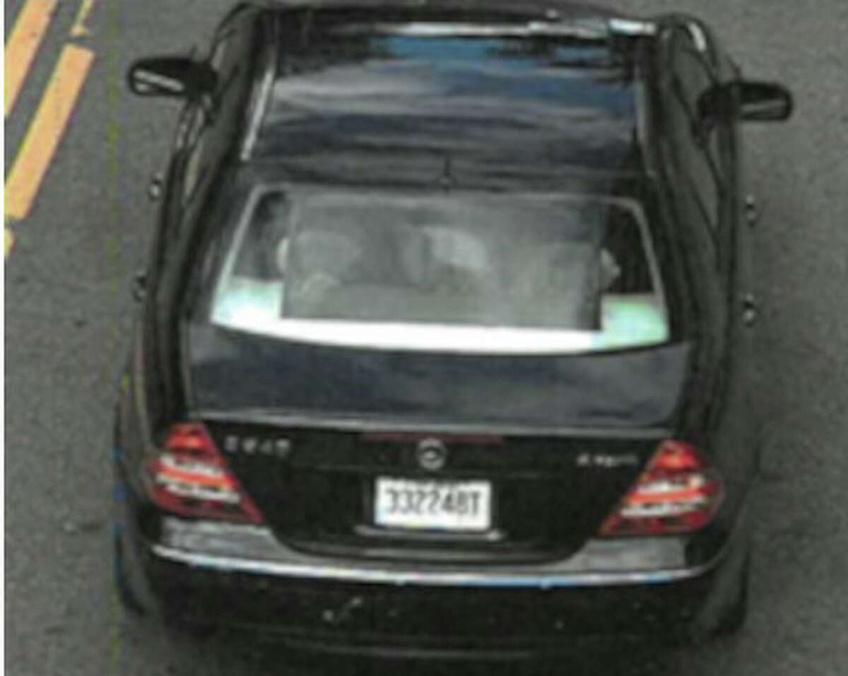 A black Mercedes C-class sedan is being sought by Schenectady police in connection with a Sept. 5 shooting outside a nightclub thatleft one dead and two injured.