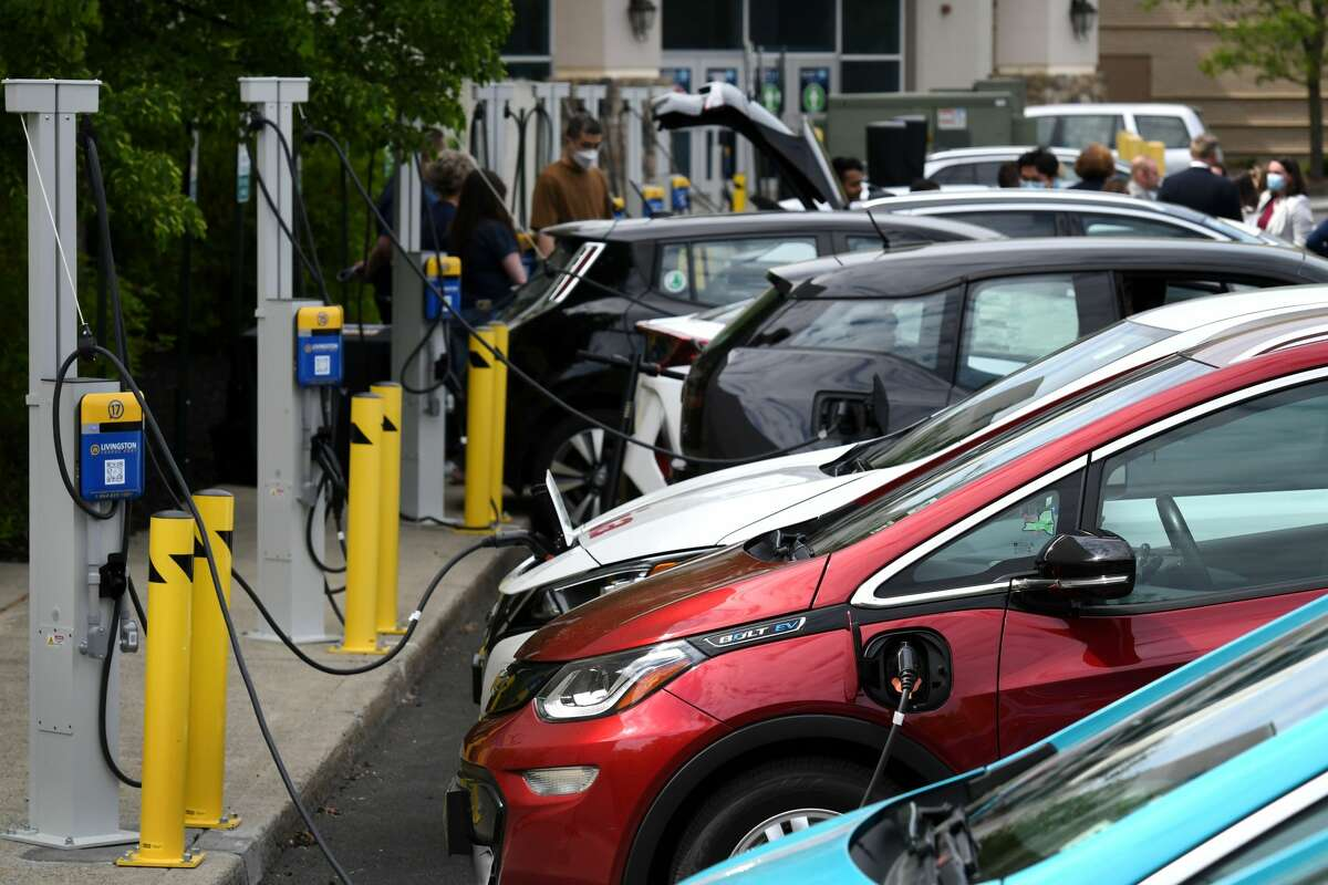 Electric vehicle charging stations are becoming more commonplace amid inducements and laws aimed at encouraging emission-free vehicles.