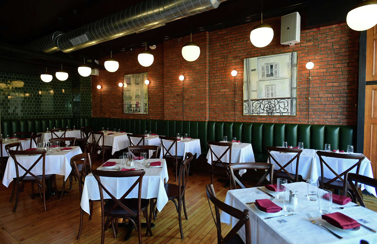 Appetit Bistro Friday, September 10, 2021, in Norwalk, Conn. The restaurant is a new modern French bistro in SoNo. The second location by the owners with the original in Port Chester.