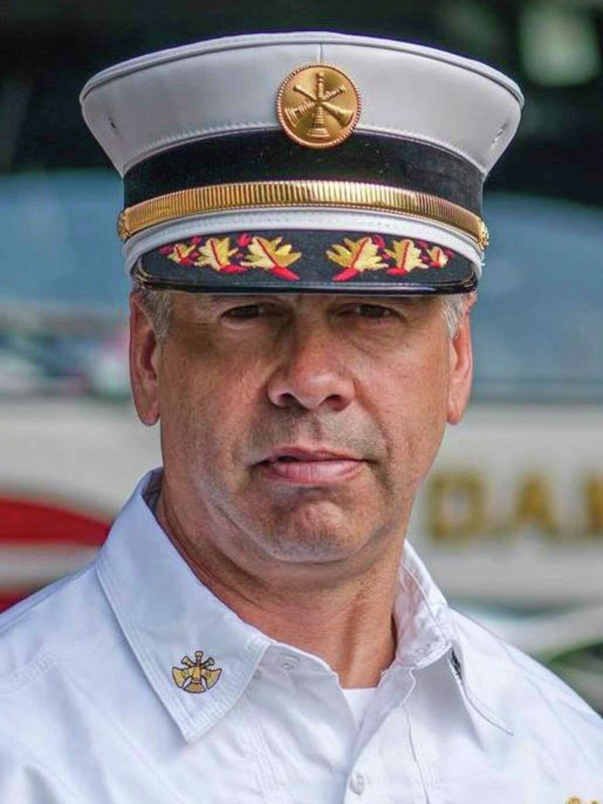 William Lounsbury, the new assistant fire chief