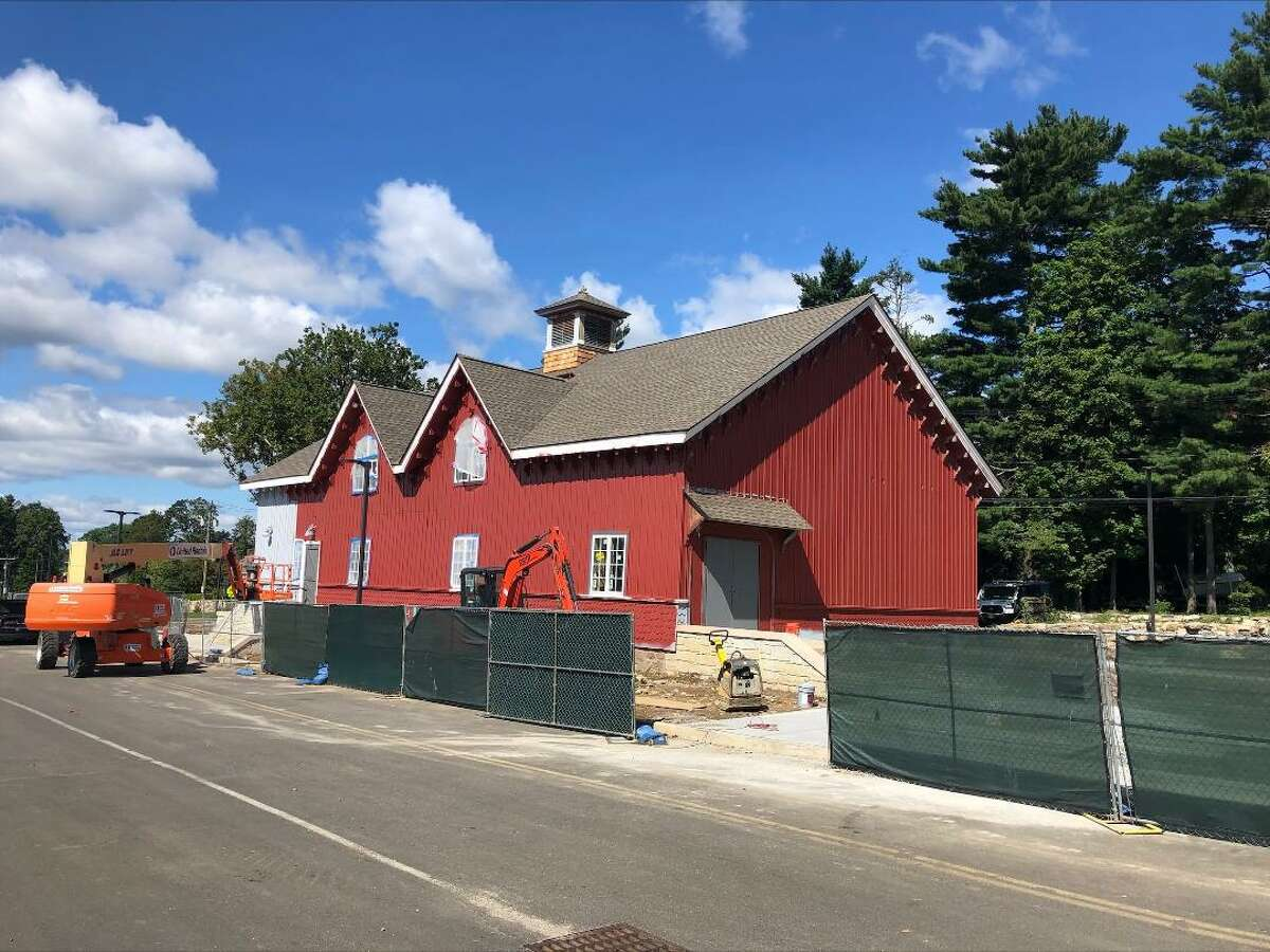 The renovation of the C.J. Starr Barn, built in the 1860s and on the National Register of Historic Places, is nearing completion, and will be available for a variety of uses by Strawberry Hill School students and the community.