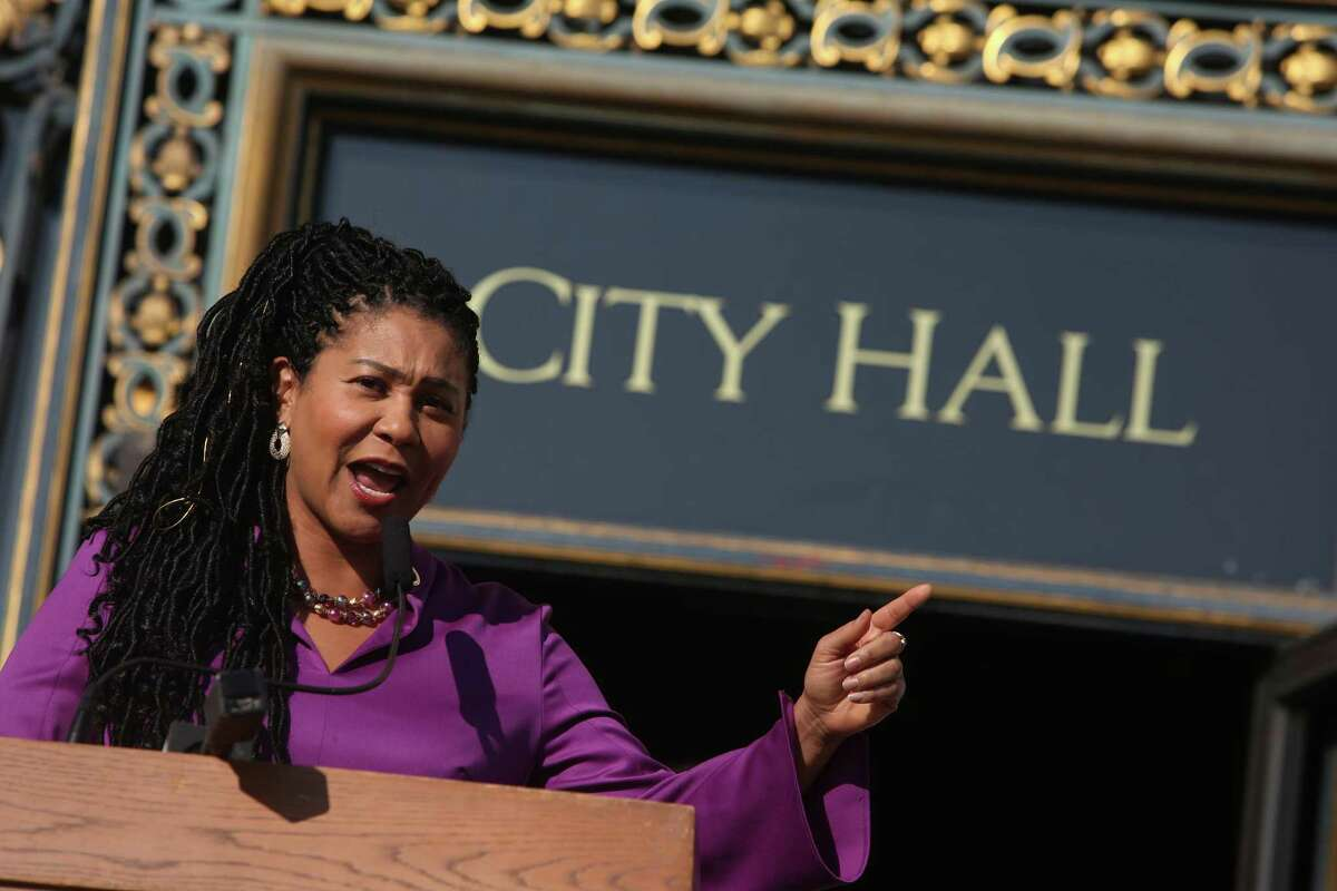 """San Francisco Mayor London Breed is one of several Black officials championing the city's Dream Keeper Fellowship. The pilot program aims to use financial incentives to lower crime rates in the city, but critics have pigeonholed the program as """"cash for criminals."""""""