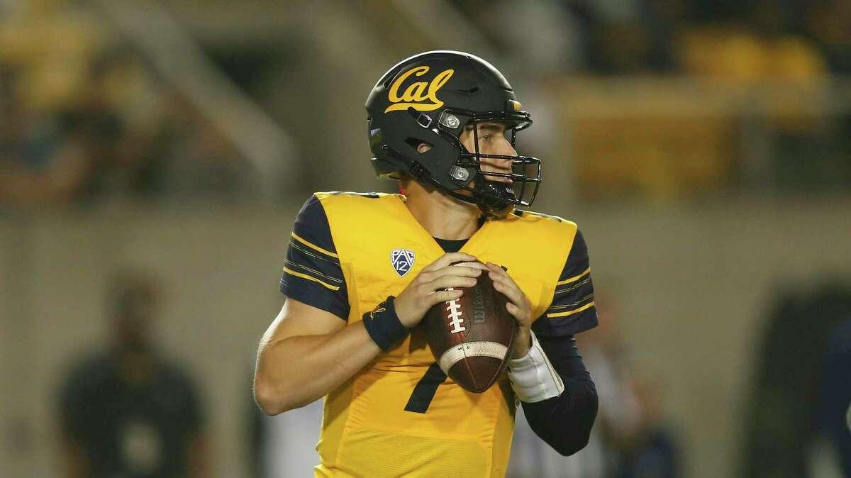 Quarterback Chase Garbers will lead Cal against TCU at 12:30 p.m. Saturday. (ESPNU)