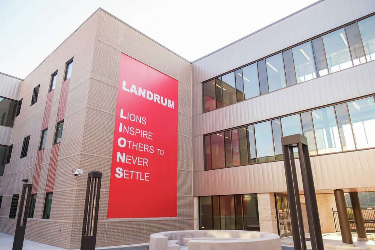 The new Landrum Middle School is the district's first three-story middle school.