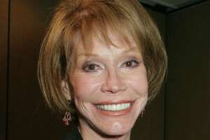 Mary Tyler Moore at the 26th Annual News and Documentary Emmy Awards ceremony in New York on Sept. 19, 2015. She died in 2017 in Greenwich Hospital.