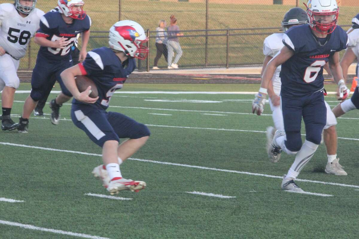 Big Rapids outscored Newaygo 20-0 in the second half and went on to a 34-14 football win on Friday.