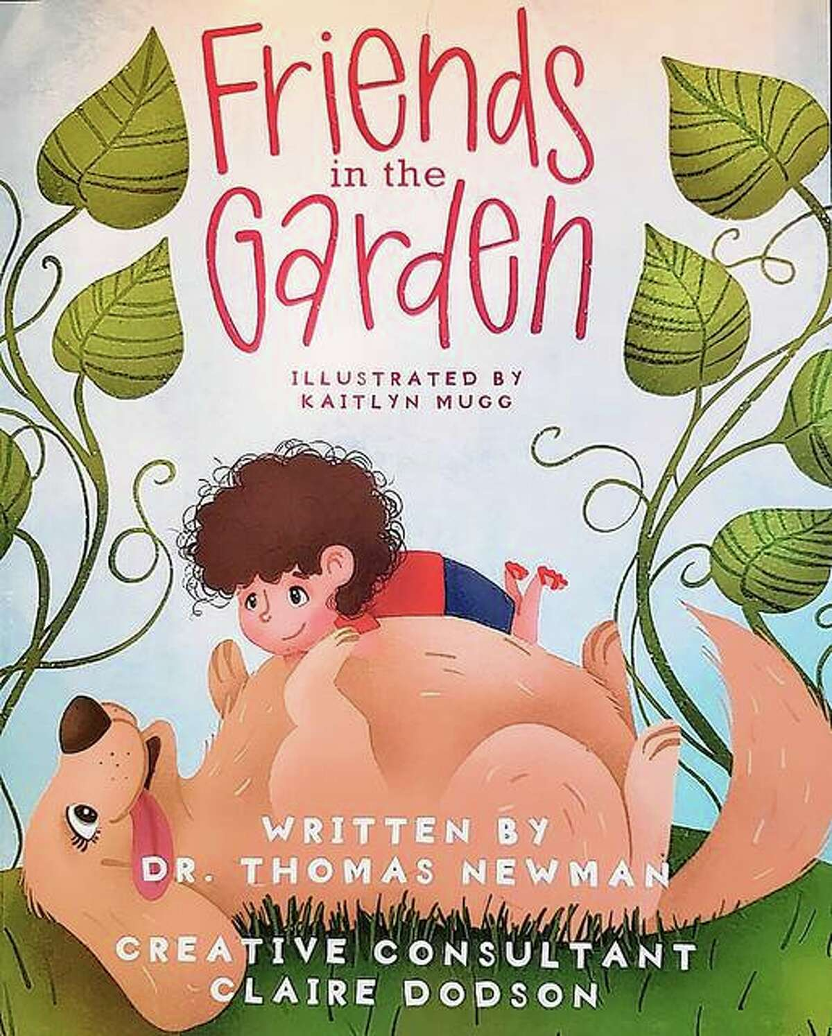 Thomas Newman, who was born and raised in Meredosia, has written a children's book in which he's included friends, relatives and the family dog.