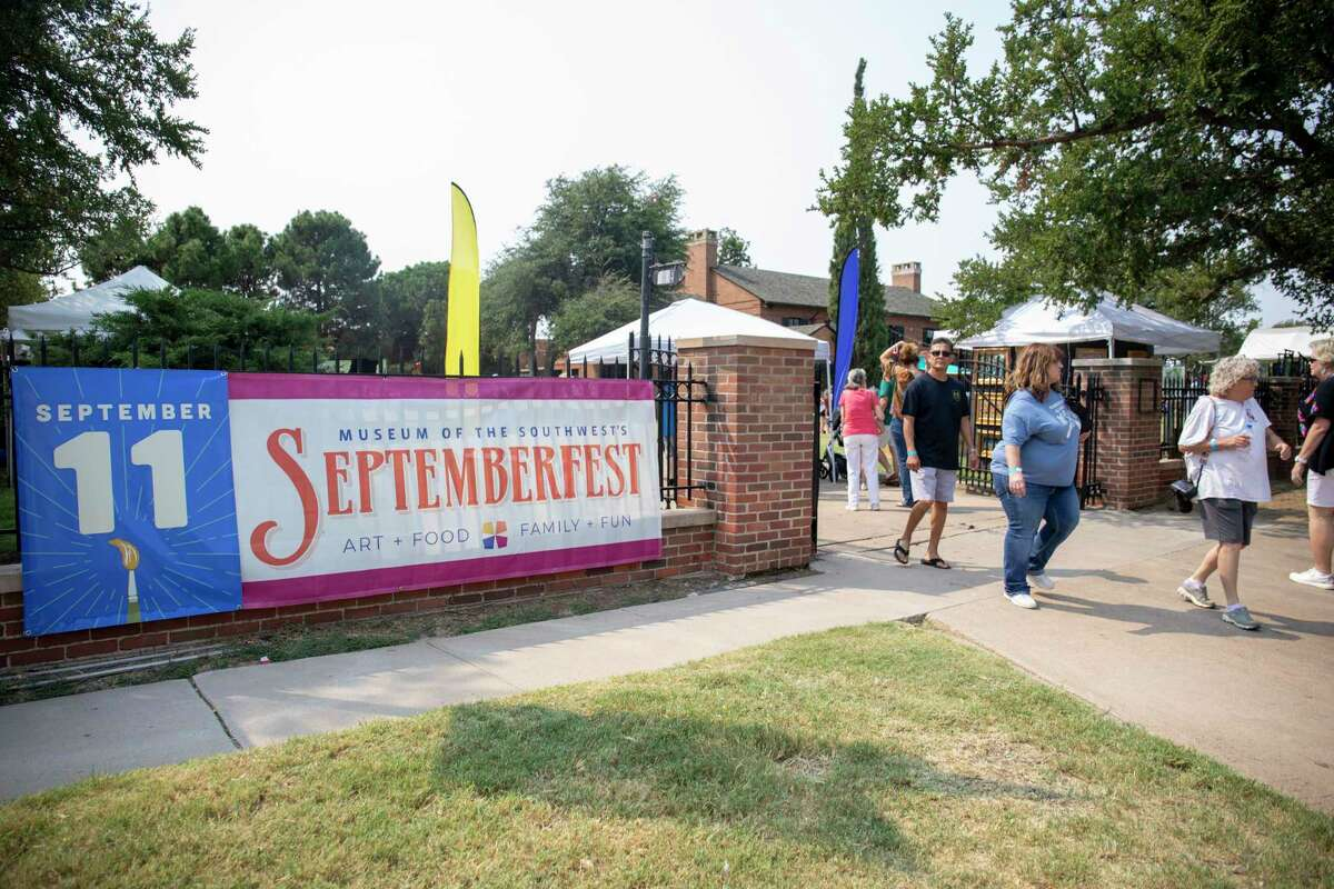 Scenes from the SeptemberFest and KinderFest on Sept. 11, 2021 at Museum of the Southwest. Jacy Lewis/Reporter-Telegram