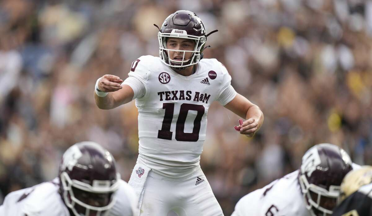 Quarterback Zach Calzada, in place of the injured Haynes King, will make his first start Saturday, when Texas A&M hosts New Mexico.