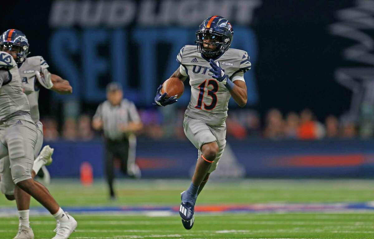 Junior wide receiver Sheldon Jones and UTSA beat Middle Tennessee last season when the Roadrunners thwarted a two-point conversion attempt.