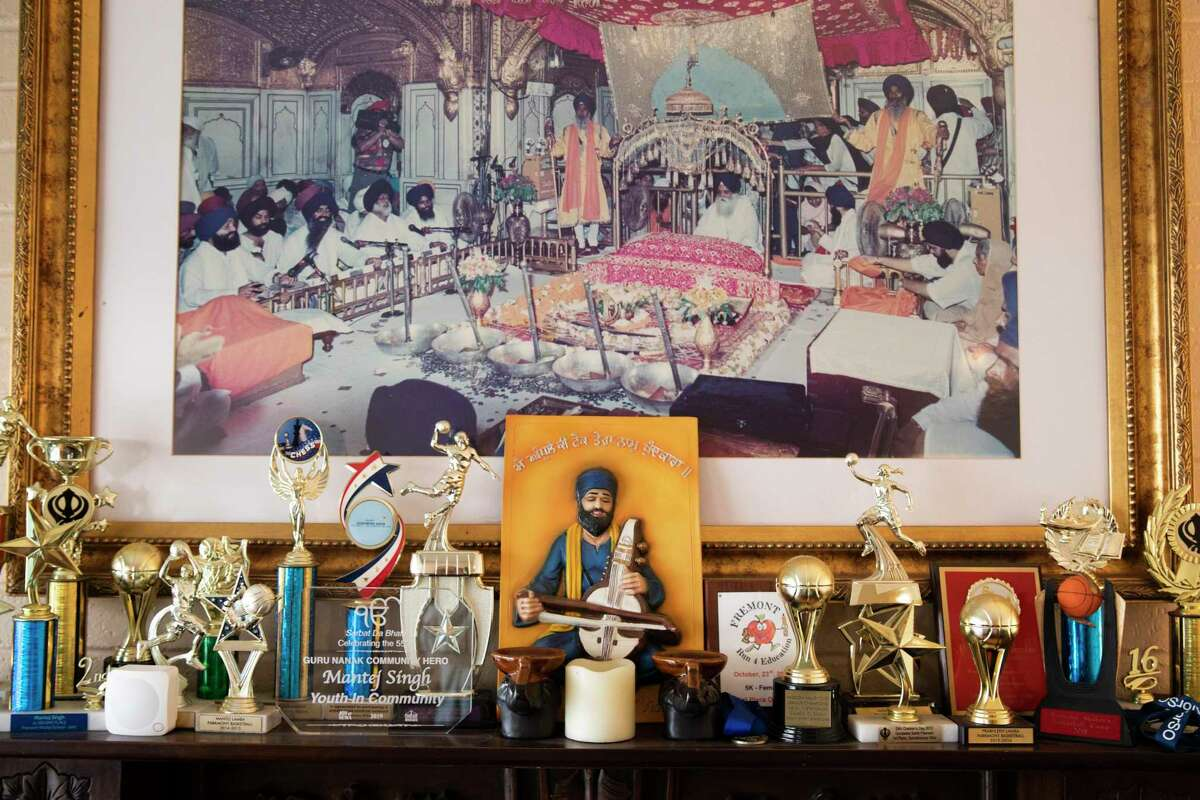 Trophies fill the mantel of Taranjit Singh's Fremont home alongside religious relics. Sikh Americans are still struggling with discrimination in a post 9/11 world, ranging from school bullying, racial profiling to hate crimes.