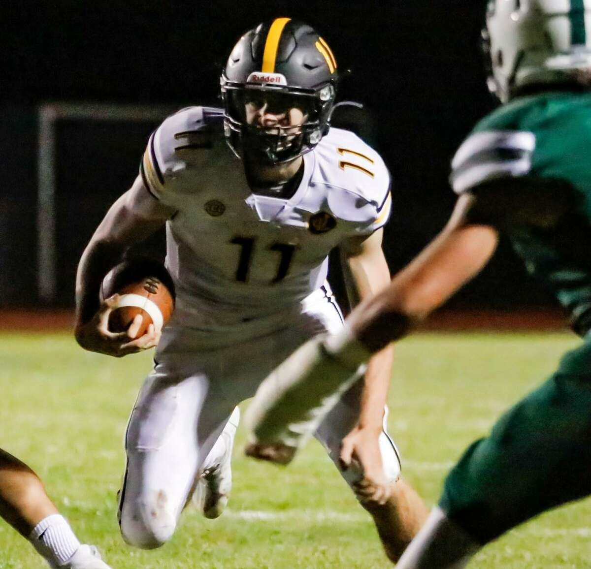 John Neider ran for three touchdowns in Law's 34-7 win against Guilford.
