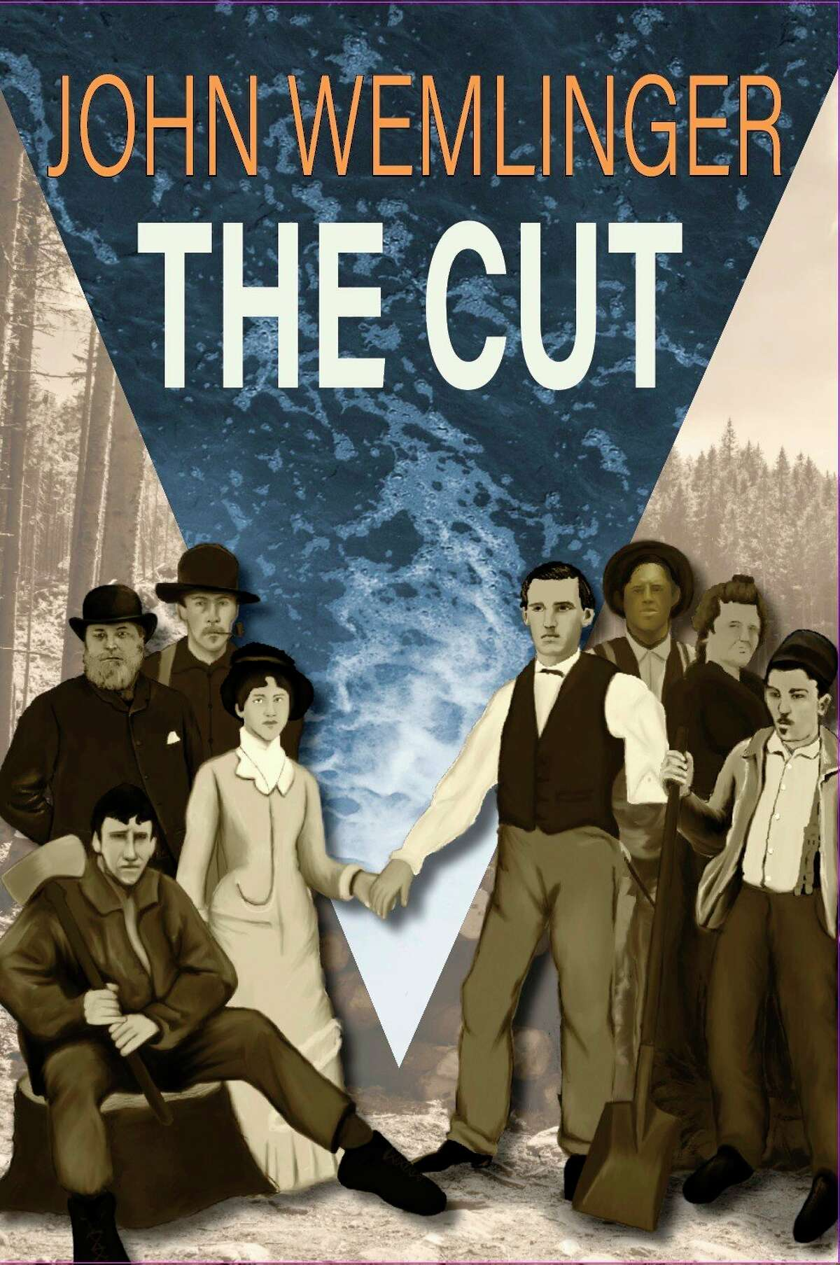 """Author John Wemlinger wrote """"The Cut,"""" a historical fiction novel, based on events that took place in Onekama in 1871. Wemlinger will discuss his novel at the Onekama Township Hall on Sept. 16. (Courtesy photo)"""