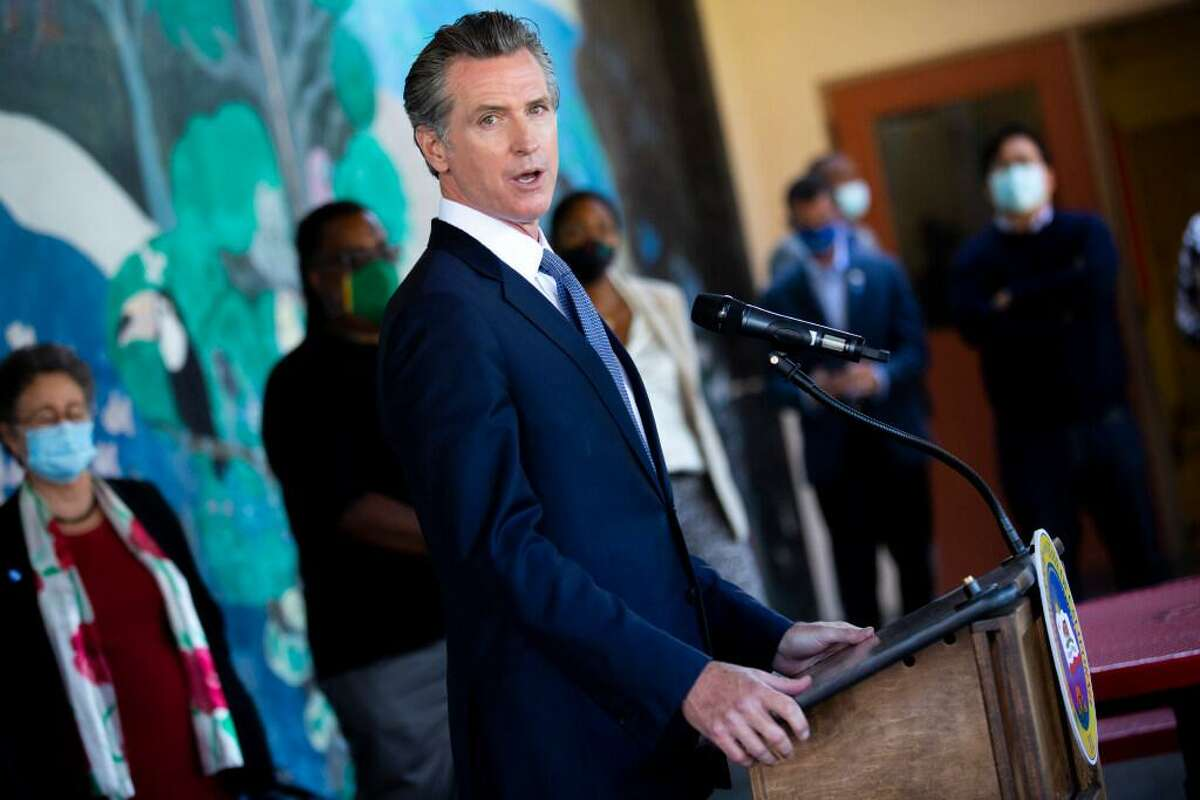 Gov. Gavin Newsom is the target of a recall election.