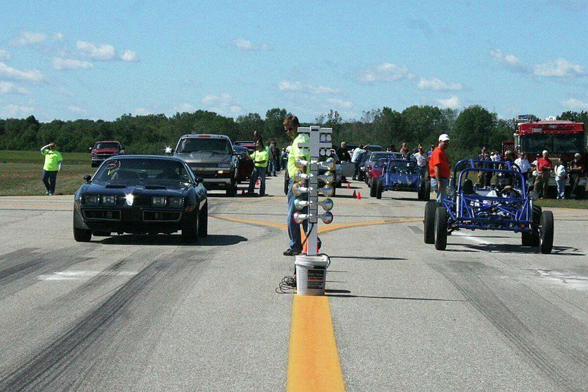 """This year's annual """"Thunder on the Strip"""" race in Gladwin on Saturdayand Sunday honored late Sanford resident Eddie Magee. Thunder organizers said Magee, who loved racing and loved cars, was a friend to the event and will be missed. (Photo provided)"""