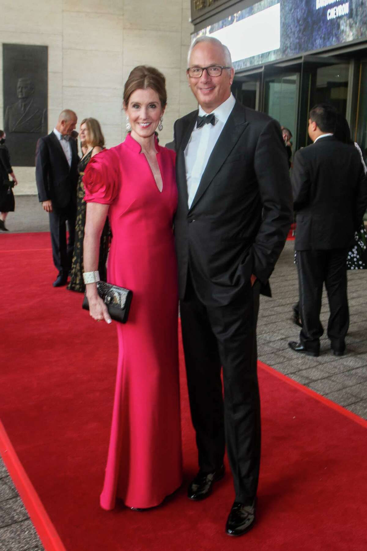 Phoebe and Bobby Tudor at the Houston Symphony Opening Night Concert.