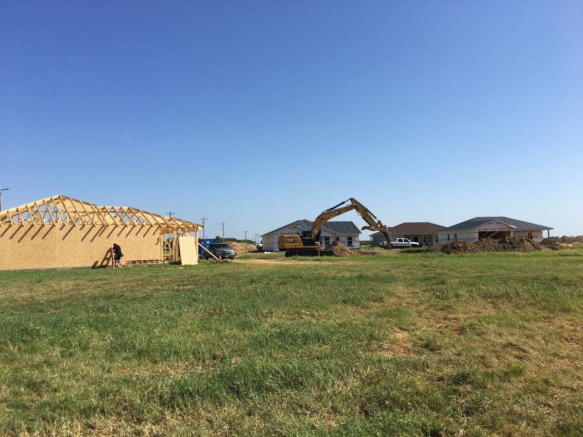 Lots are available in Strawberry Fields, a new subdivision in Poteet. The community will consist of approximately 364 one-story, single-family homes.