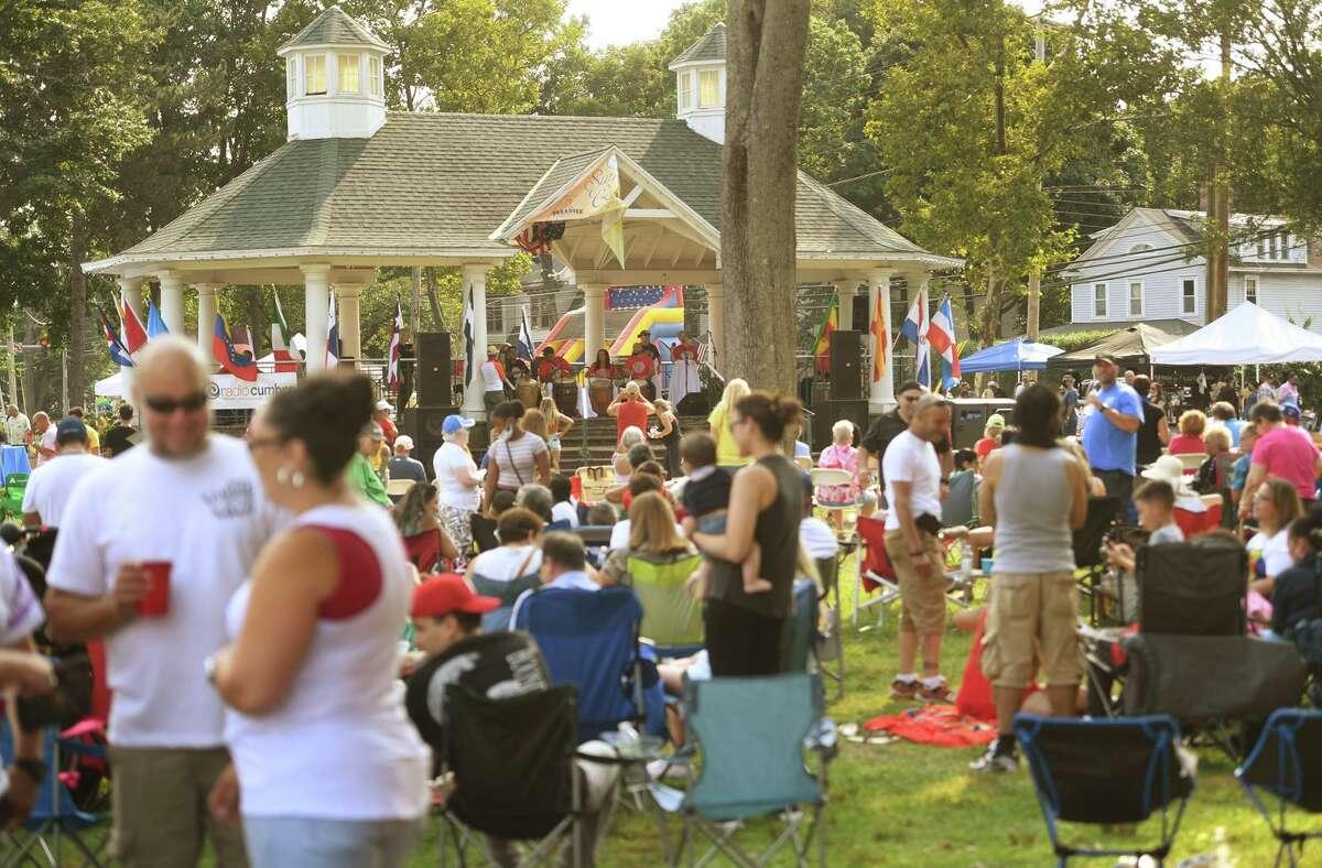 El Festival de Música Latina de Stratford en Paradise Green en Stratford, Connecticut, el domingo 12 de septiembre de 2021.