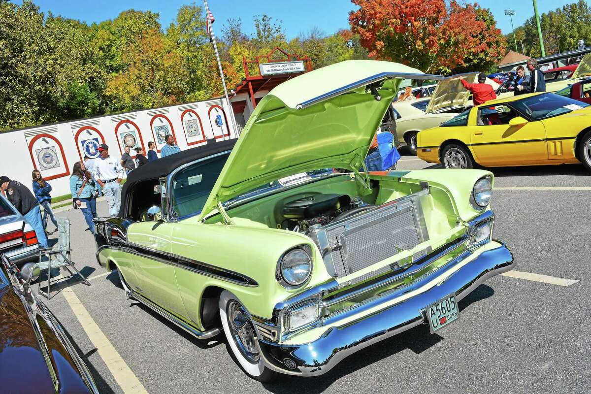 The Middlesex County Historical Society's 29th annual antique car and classic truck show was held at Palmer Field in Middletown 2017, where dozens of prized vehicles were on display.