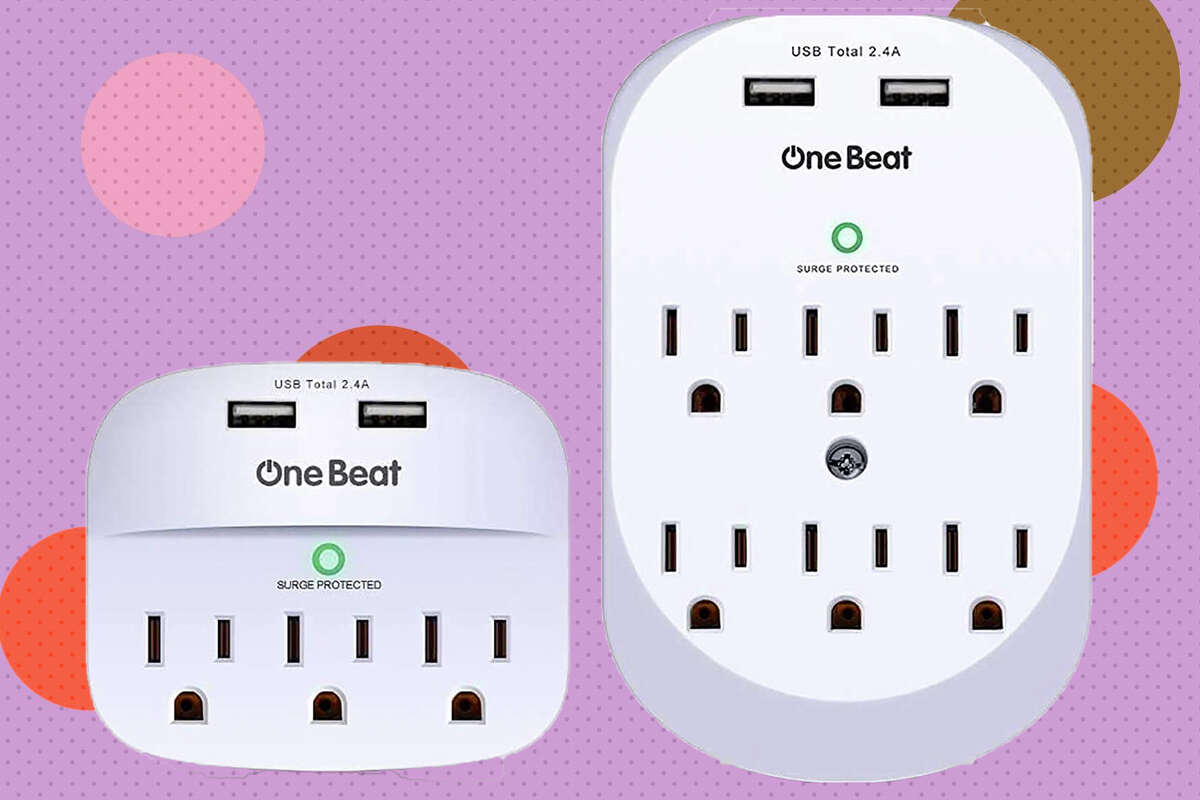 2 pack wall surge protector for $18.69