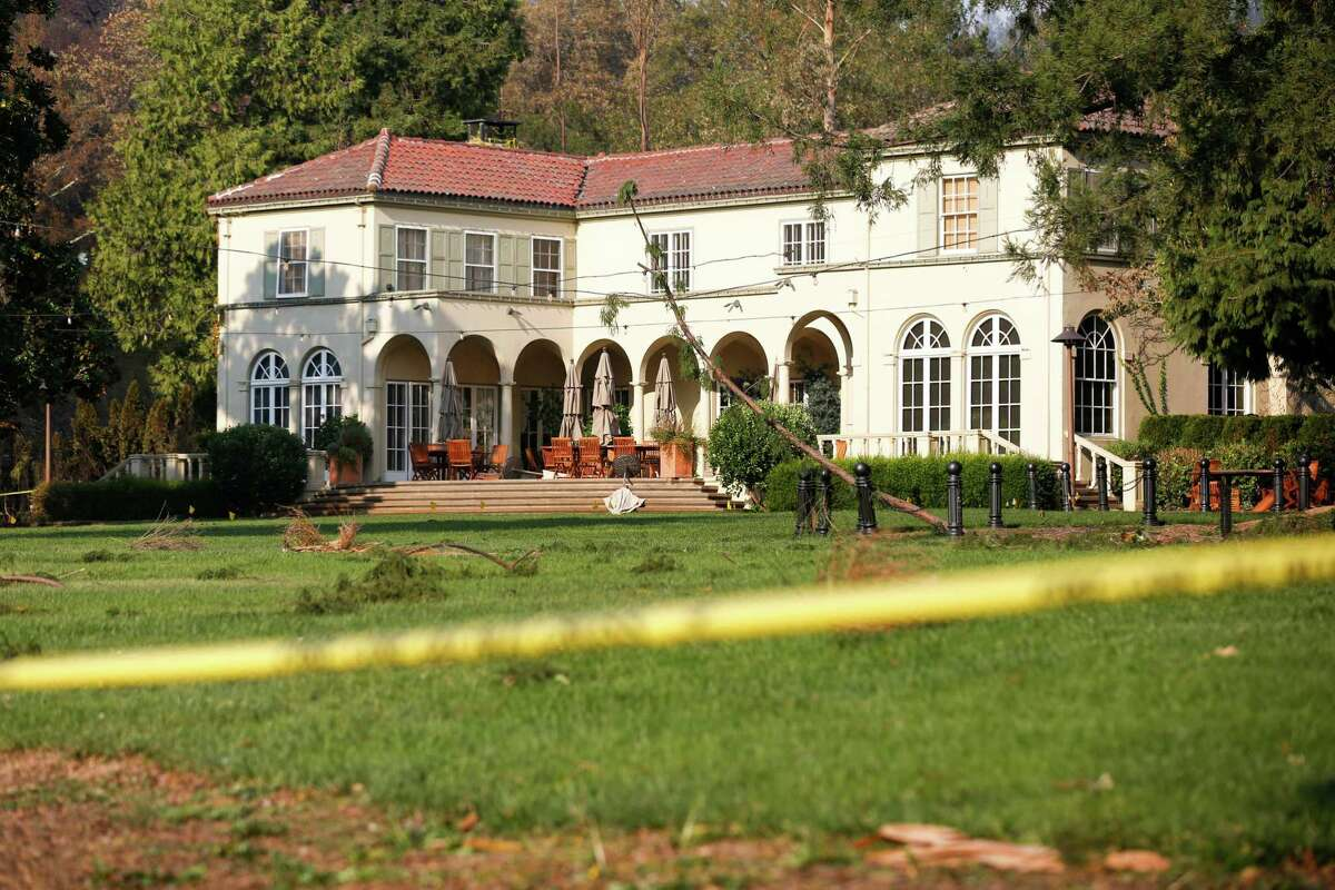 Chateau St. Jean, a Kenwood winery, suffered minor damage in the 2017 Wine Country wildfires.
