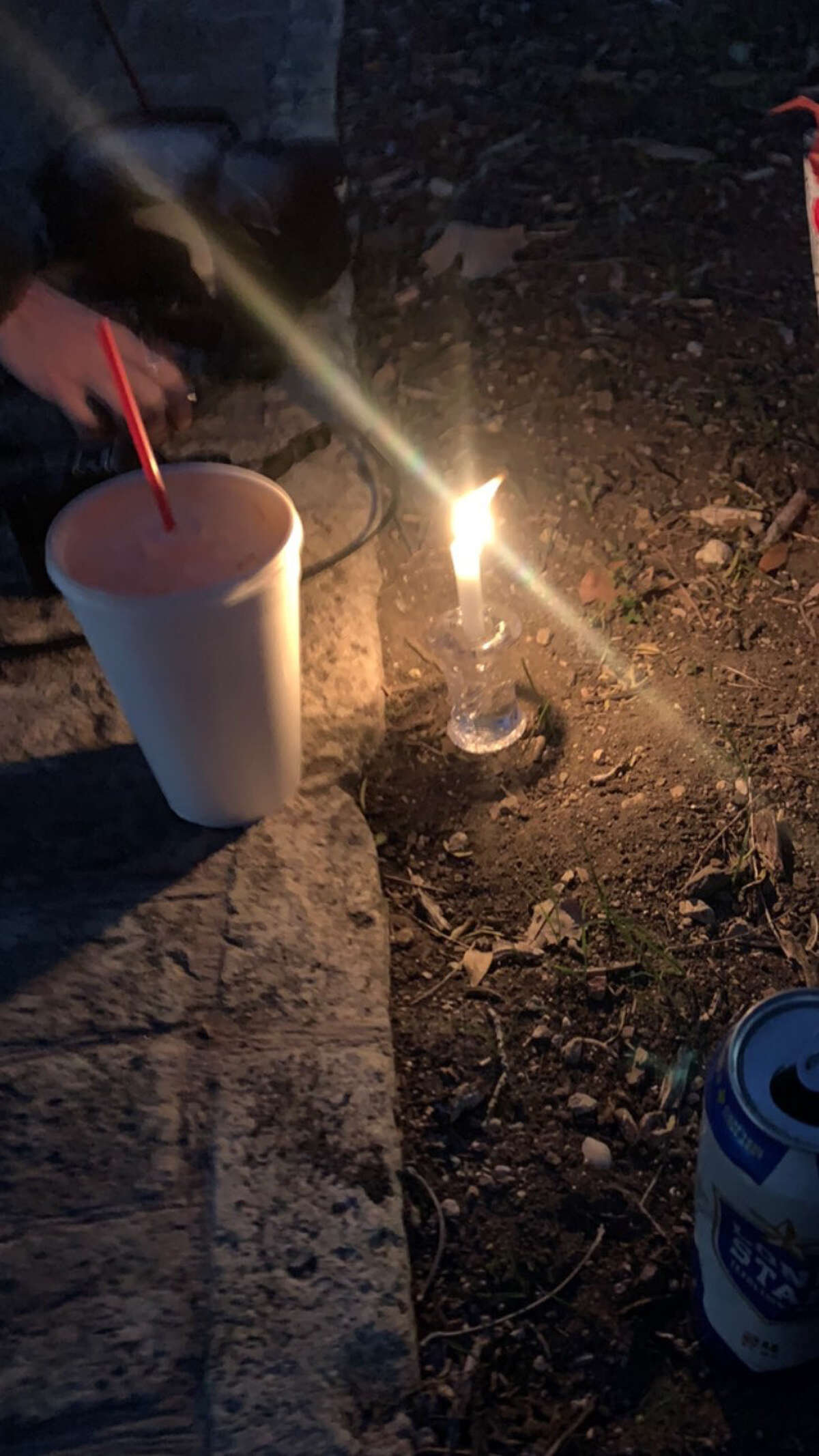 Candle in the park.