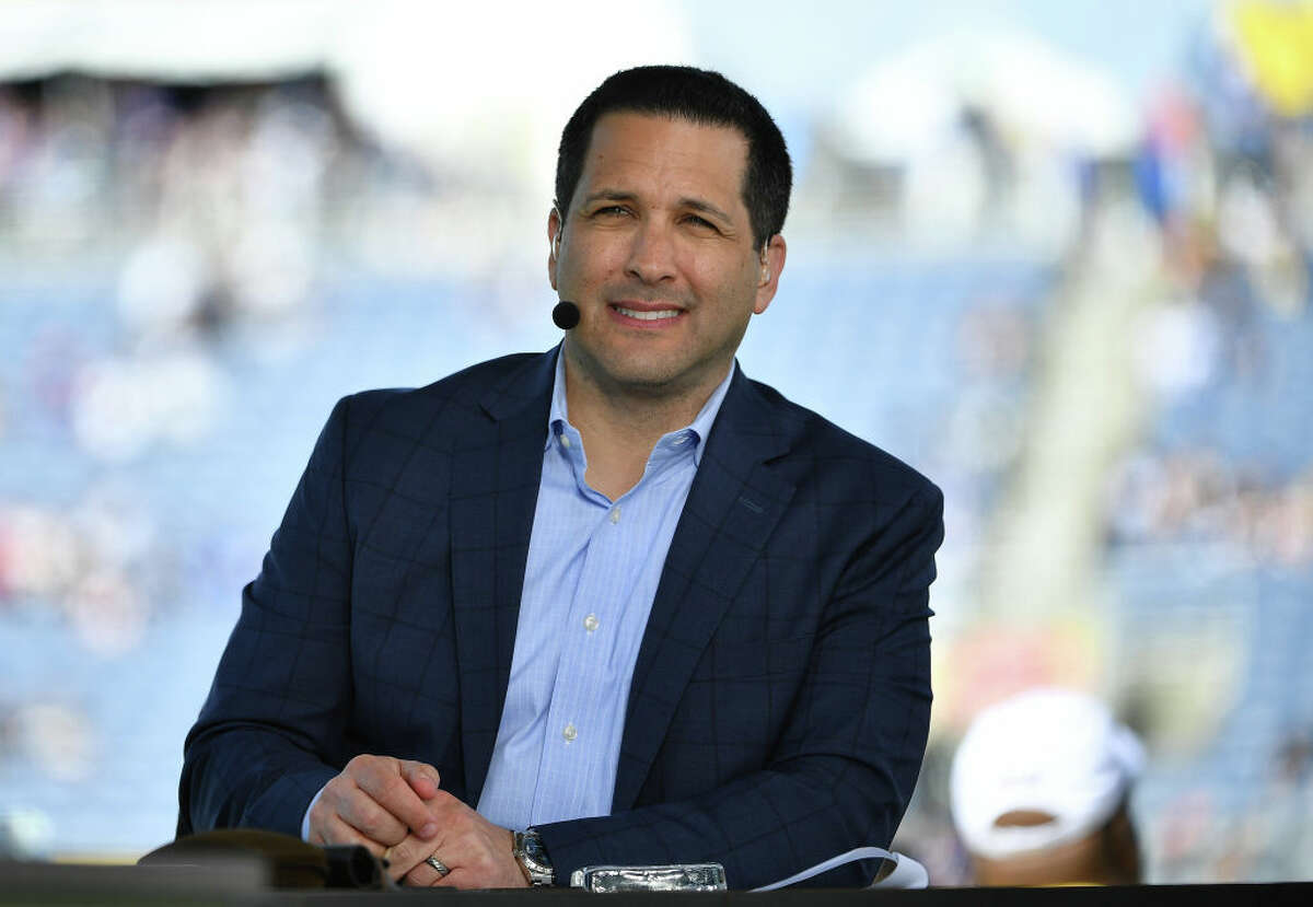 Adam Schefter from ESPN looks on during the 2020 NFL Pro Bowl at Camping World Stadium on January 26, 2020 in Orlando, Florida.