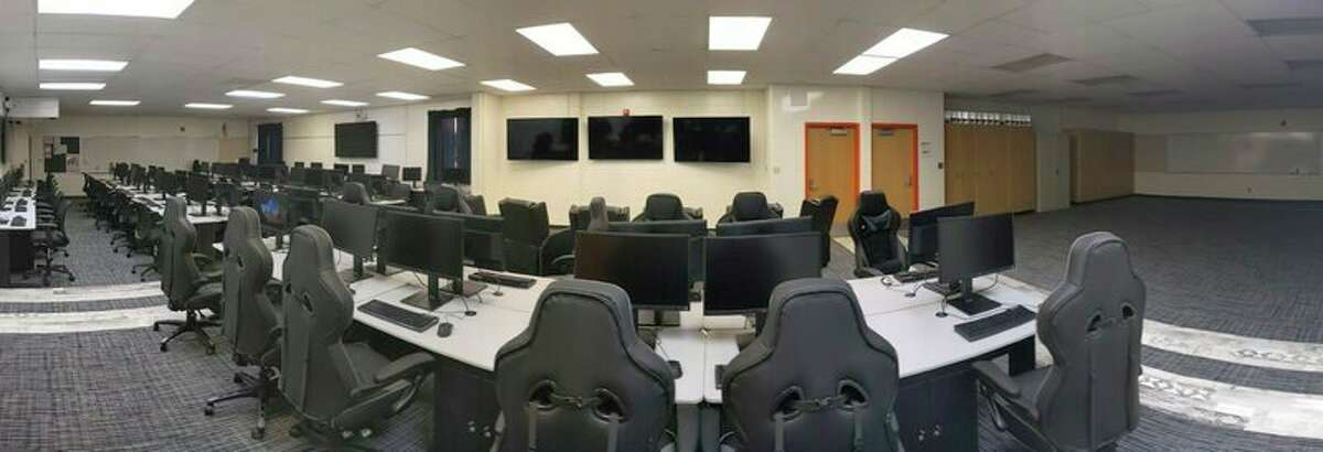 Harbor Beach Community Schools unveiled its new computer lab at the beginning of the school year, upgrading the previous lab with new state of the art computers. The lab is used for a variety of high school classes and the school's esports club. (Harbor Beach Community Schools/Courtesy Photo)