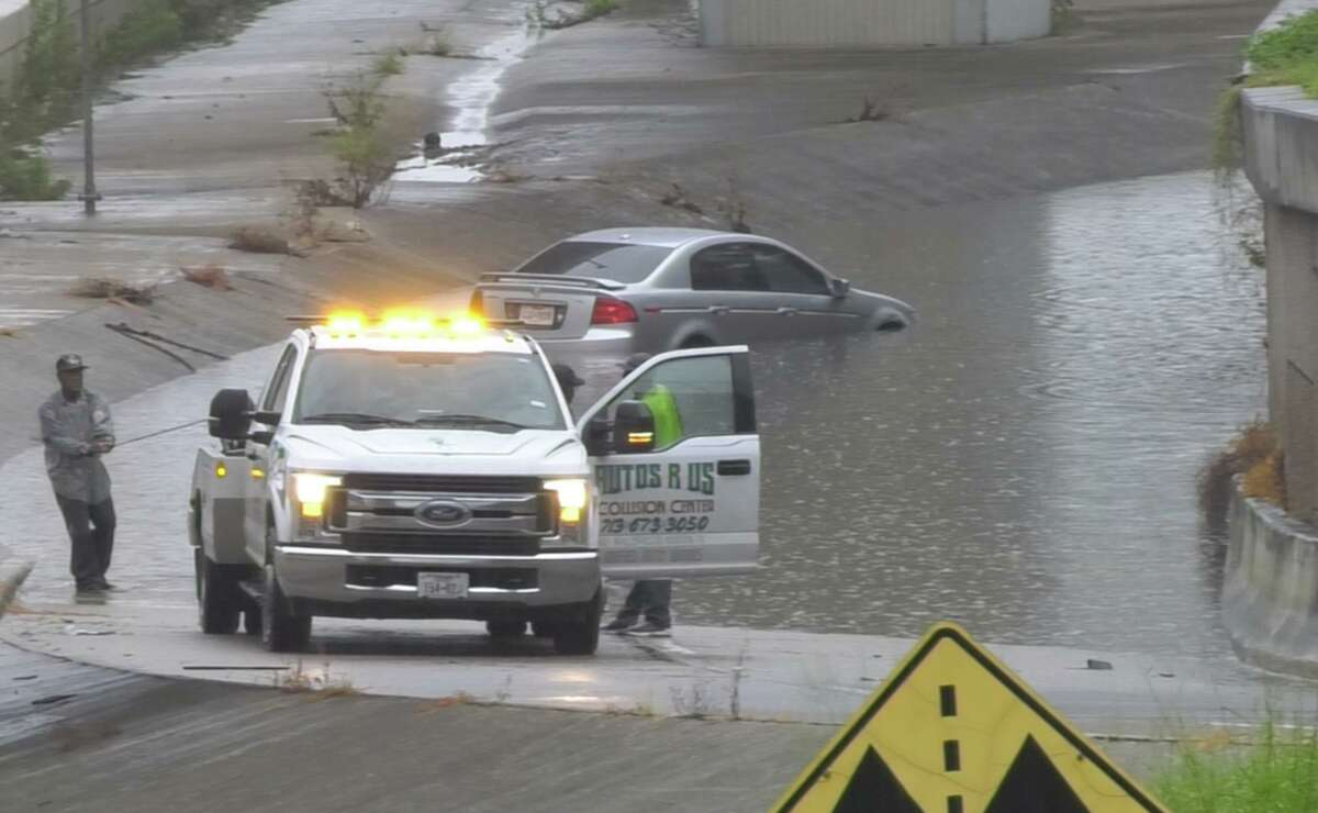 If rains are heavy and streets are flooding, stay home if you can. Two years ago, Tropical Storm Imelda caused flooding in some areas that left some motorists stranded and their cars ruined.
