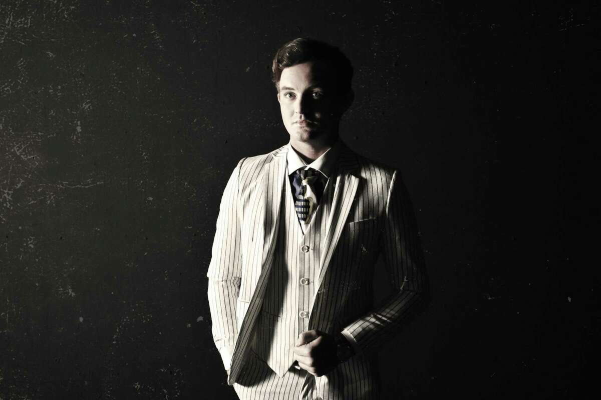 """Clear Brook High School alumnus Luke Hamilton plays the title role in the new musical, """"Gatsby,"""" based on F. Scott Fitzgerald's 1925 novel """"The Great Gatsby."""" The show will be performed through Sept. 26 at Art Factory Houston."""