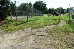 Christiano Park in Greenwich, Conn., photographed on Monday, Sept. 13, 2021. Christiano Park in Chickahominy is not ADA accessible and could be an area of improvement if a town plan emerges from the Parks and Recreation Department to improve access to town parks and fields.
