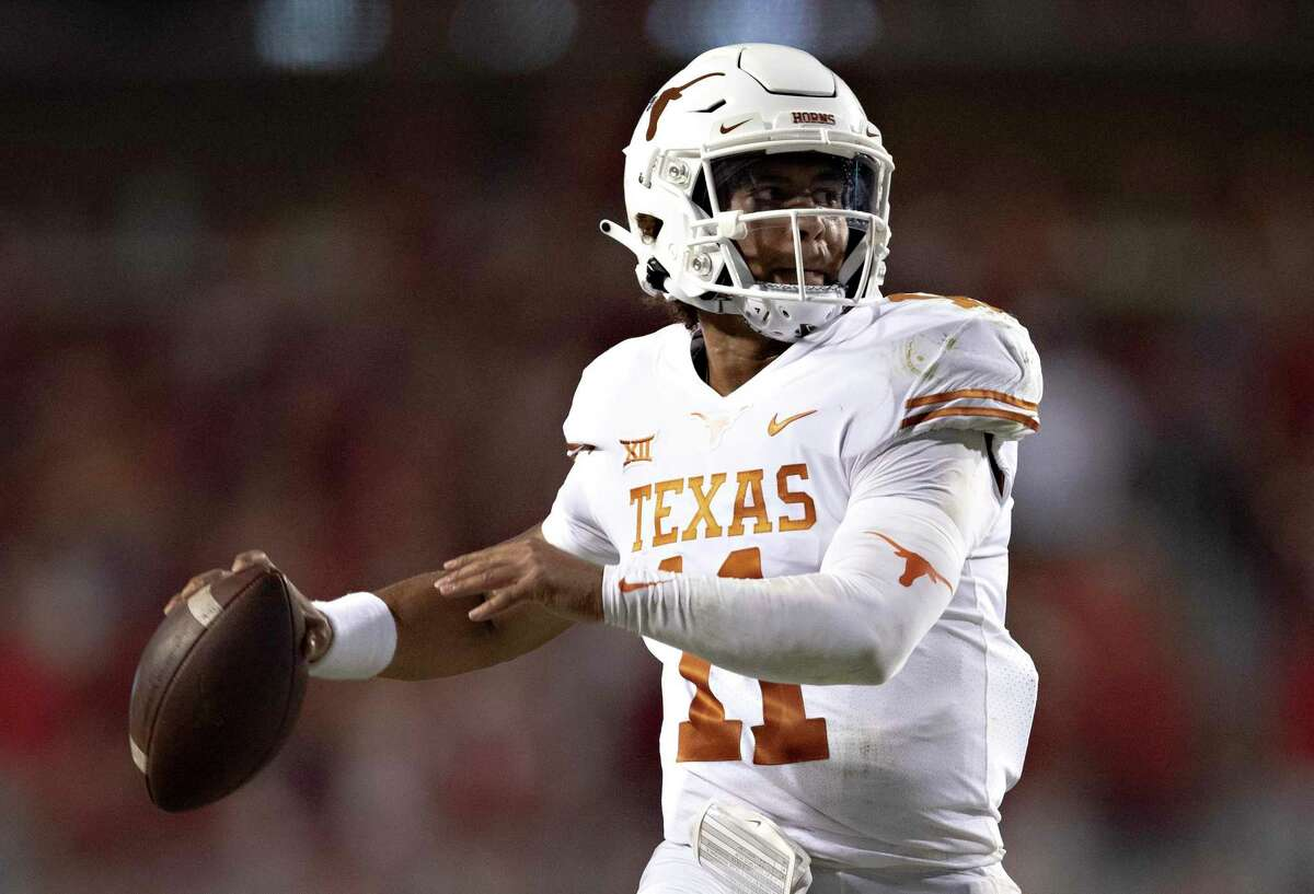 Redshirt freshman quarterback Hudson Card started Texas' first two games. But this week against Rice, junior Casey Thompson, above, will make the first start of his career.