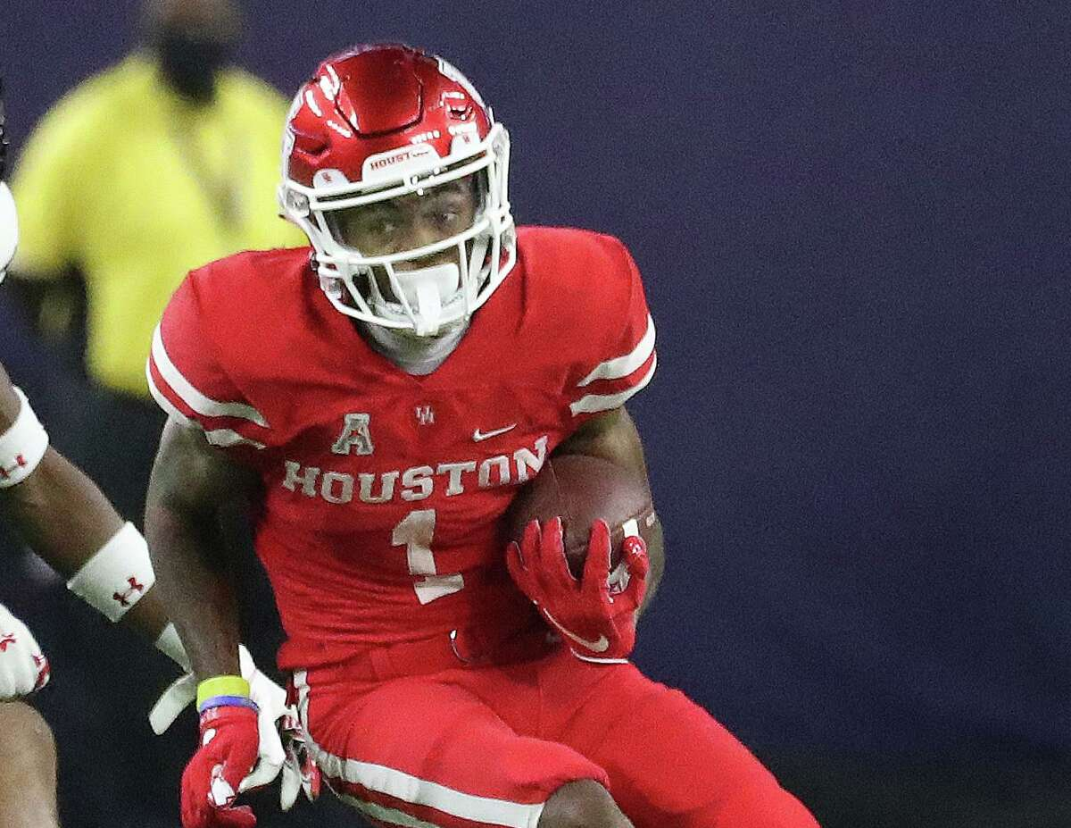 Through two games, wide receiver Nathaniel Dell is responsible for three of UH's eight plays netting 20 or more yards.